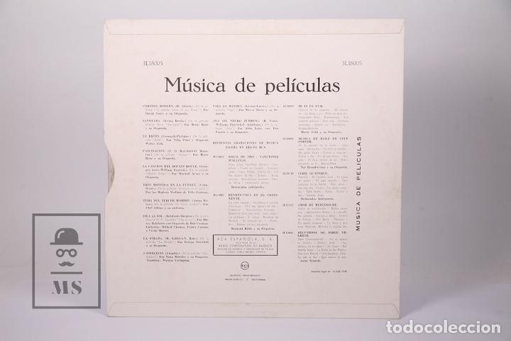 Discos de vinilo: Disco LP De Vinilo - Musica de Peliculas / El Puente Sobre el Rio Kwai, Moulin Rouge - RCA 1959 - Foto 4 - 179518718