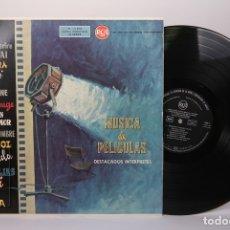 Discos de vinilo: DISCO LP DE VINILO - MUSICA DE PELICULAS / EL PUENTE SOBRE EL RIO KWAI, MOULIN ROUGE - RCA 1959. Lote 179518718