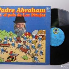 Discos de vinilo: DISCO LP DE VINILO - PADRE ABRAHAM EN EL PAIS DE LOS PITUFOS - CARNABY - AÑO 1978 - CON ENCARTE. Lote 179518732