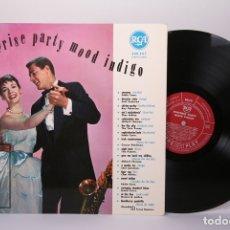 Discos de vinilo: DISCO LP DE VINILO - SURPRISE PARTY MOOD INDIGO / EDDIE CANO EMIL COLEMAN... - RCA - MADE IN FRANCE. Lote 179518795