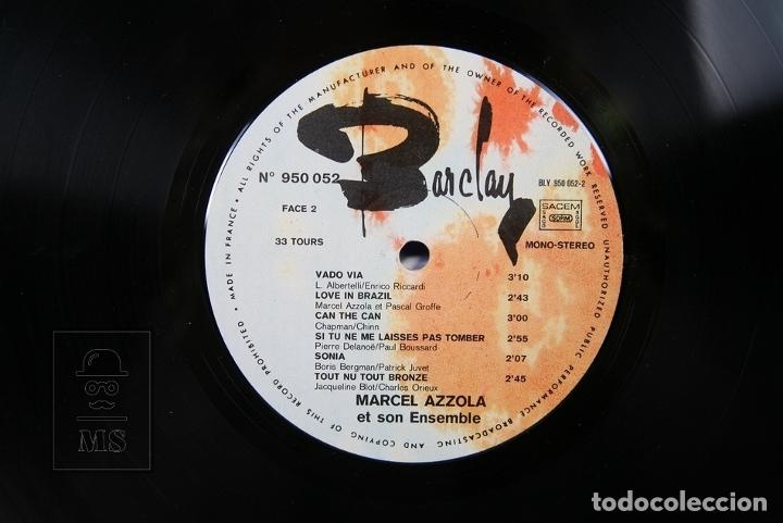 Discos de vinilo: Disco LP De Vinilo - Marcel Azzola / Chante, Vado via .... - Barclay - Made in France - Foto 3 - 179518846
