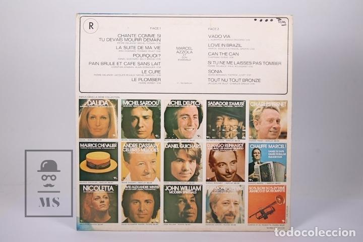 Discos de vinilo: Disco LP De Vinilo - Marcel Azzola / Chante, Vado via .... - Barclay - Made in France - Foto 4 - 179518846