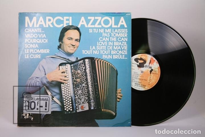 DISCO LP DE VINILO - MARCEL AZZOLA / CHANTE, VADO VIA .... - BARCLAY - MADE IN FRANCE (Música - Discos - LP Vinilo - Canción Francesa e Italiana)