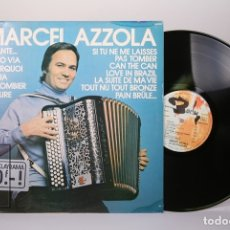 Discos de vinilo: DISCO LP DE VINILO - MARCEL AZZOLA / CHANTE, VADO VIA .... - BARCLAY - MADE IN FRANCE. Lote 179518846