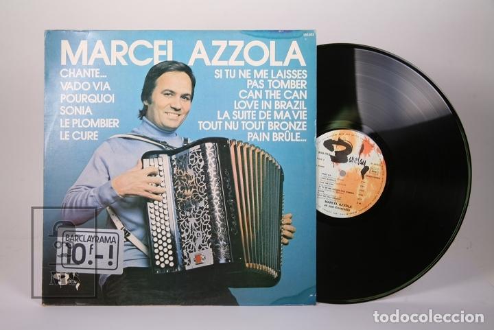 Discos de vinilo: Disco LP De Vinilo - Marcel Azzola / Chante, Vado via .... - Barclay - Made in France - Foto 2 - 179518846