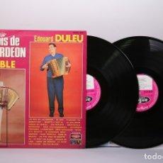 Discos de vinilo: DOBLE DISCO LP DE VINILO -LES ROIS DE L' ACCORDÉON / AIMABLE, EDOUARD DULEU - VOGUE - MADE IN FRANCE. Lote 179518857