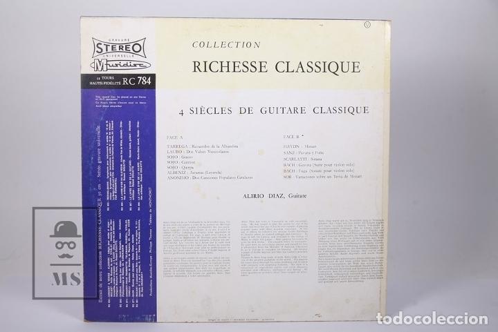 Discos de vinilo: Disco LP De Vinilo - Alirio Diaz / 4 Sièces de Guitare Classique - Musidisc - Made in France - Foto 4 - 179518872