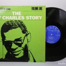 Discos de vinilo: DISCO LP DE VINILO - THE RAY CHARLES STORY VOLUME ONE - BELTER - AÑO 1963. Lote 179518878