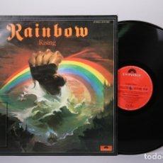Discos de vinilo: DISCO LP DE VINILO - RAINBOW / RISING - POLYDOR - AÑO 1976. Lote 179518885