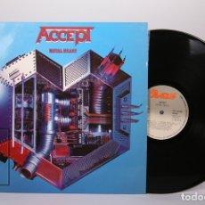 Discos de vinilo: DISCO LP DE VINILO - ACCEPT / METAL HEART - PORTRAIT - AÑO 1985. Lote 179518900