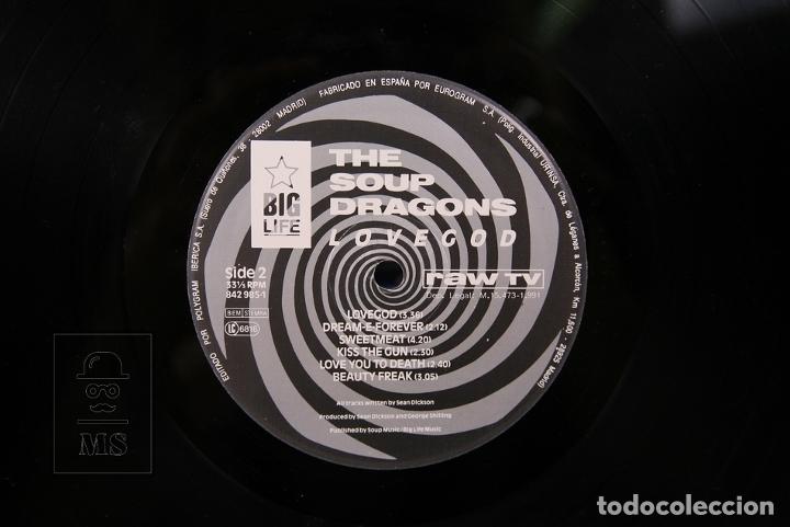 Discos de vinilo: Disco LP De Vinilo - The Soup Dragons / Lovegod - Big Live - Año 1991 - Con Encarte - Foto 3 - 179518906