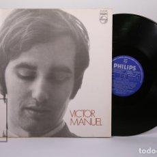Discos de vinilo: DISCO LP DE VINILO - VICTOR MANUEL / MARIA CORAJE... - PHILIPS - AÑO 1970 - PORTADA ABIERTA. Lote 179518910