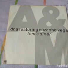 Discos de vinilo: DNA AND SUZANE VEGA - TOM´S DINER . Lote 179519291