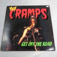 Discos de vinilo: DISCO VINILO LP, THE CRAMPS, GET OFF THE ROAD. . Lote 179520255