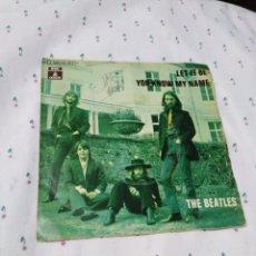 Discos de vinilo: THE BEATLES VINILO SINGLE 45 R.P.M. Lote 179520827