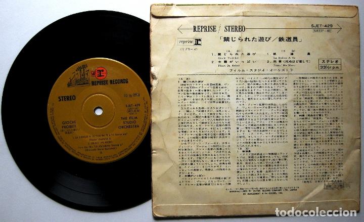 Discos de vinilo: The Film Studio Orchestra - Giochi Proibiti +3 - EP Reprise Records 1966 Japan BPY - Foto 2 - 179522358