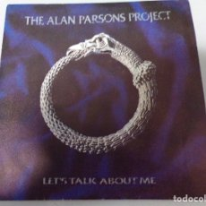 Discos de vinilo: ANTIGUO DISCO DE VINILO THE ALAN PARSON PROJECT - VULTURE CULTURE - 33 RPM- ARISTA 1984.. Lote 179524675