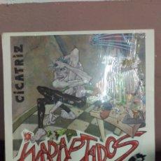 Discos de vinilo: CICATRIZ - INADAPTADOS - PRIMERA EDICION ORIGINAL SOÑUA 1986. Lote 179526741