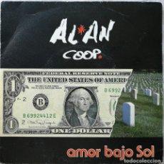 Discos de vinilo: ALAN COOP-AMOR BAJO EL SOL, LA ROSA RECORDS 70.002. Lote 179527976
