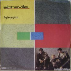 Discos de vinilo: ALPHAVILLE-BIG IN JAPAN, WEA 24-9505-7, 24-9505-7-N. Lote 179528158