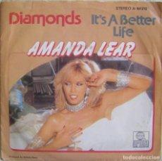 Discos de vinilo: AMANDA LEAR-DIAMONDS, ARIOLA A-101212, A-101.212. Lote 179528647