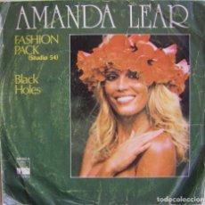 Discos de vinilo: AMANDA LEAR-FASHION PACK (STUDIO 54), ARIOLA 100.382-A, 100382-A. Lote 179528787
