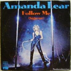 Discos de vinilo: AMANDA LEAR-RUN BABY RUN, ARIOLA 15.616-A, 15616-A. Lote 179528961