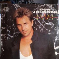Discos de vinilo: DON JOHNSON-HEARTBEAT. Lote 179530037