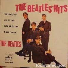 Discos de vinilo: THE BEATLES' HITS - REEDICIÓN ESPAÑOLA. Lote 179531217