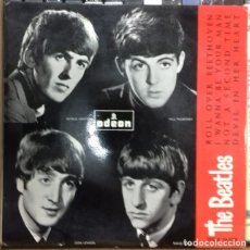 Discos de vinilo: THE BEATLES - ROLL OVER BEETHOVEN EP ED. ESPAÑOLA 1964. Lote 179531586