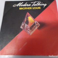 Discos de vinilo: VINILO EP SINGLE MODERN TALKING ''BROTHER LOUIE''. Lote 179531768