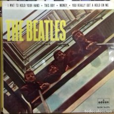 Discos de vinilo: THE BEATLES - I WANT TO HOLD YOUR HAND EP ED. ESPAÑOLA 1964. Lote 179532010