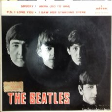 Discos de vinilo: THE BEATLES - MISERY / ANNA / ... EP ED. ESPAÑOLA 1964. Lote 179532376