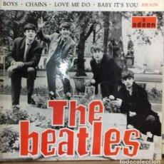 Discos de vinilo: THE BEATLES - BOYS EP ED. ESPAÑOLA 1964. Lote 179532963