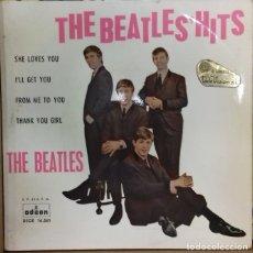 Discos de vinilo: THE BEATLES - THE BEATLES´HITS EP ED. ESPAÑOLA 1963. Lote 179533290