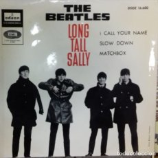 Discos de vinilo: THE BEATLES - LONG TALL SALLY EP ED. ESPAÑOLA 1964. Lote 179534221