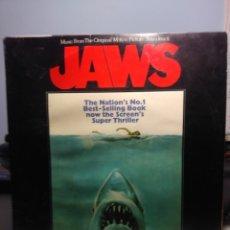 Discos de vinilo: LP JAWS / TIBURON : BANDA SONORA DE JOHN WILLIAMS. Lote 179534402