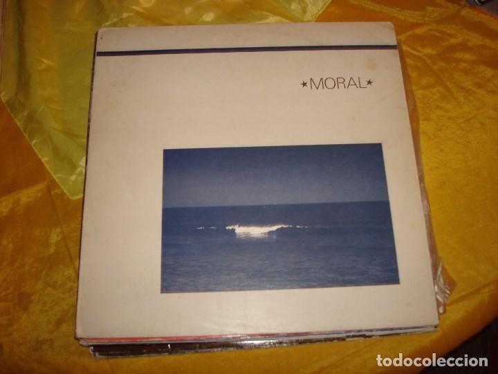 MORAL. AND LIFE IS....ARP GRAMMOFON, 1984. IMPECABLE (#) (Música - Discos - LP Vinilo - Electrónica, Avantgarde y Experimental)