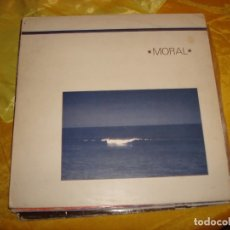 Discos de vinilo: MORAL. AND LIFE IS....ARP GRAMMOFON, 1984. IMPECABLE (#). Lote 179534907