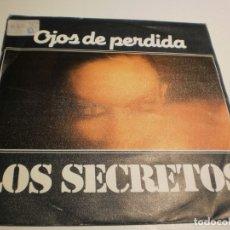 Discos de vinilo: SINGLE LOS SECRETOS OJOS DE PERDIDA. NO SUPE QUÉ DECIR. POLYDOR 1981 SPAIN (PROBADO Y BIEN). Lote 179534970