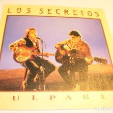 Discos de vinilo: SINGLE LOS SECRETOS CULPABLE. NO SERÉ YO. TWINS 1990 SPAIN (PROBADO Y BIEN, SEMINUEVO). Lote 179535327