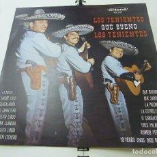 Discos de vinilo: LOS TENIENTES - QUE BUENO LOS TENIENTES - LP - N. Lote 179535337