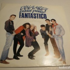 Discos de vinilo: SINGLE DINAMITA PA LOS POLLOS. FANTÁSTICO. GRAB ACCID. 1992 SPAIN (PROBADO Y BIEN ). Lote 179536752