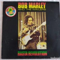 Discos de vinilo: BOB MARLEY & THE WAILERS – RASTA REVOLUTION. Lote 179537021