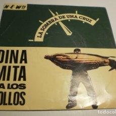 Discos de vinilo: DINAMITA PA LOS POLLOS. LA SOMBRA DE UNA CRUZ. 18 RUEDAS GRAB ACCID. 1990 SPAIN (PROBADO Y BIEN ). Lote 179537053