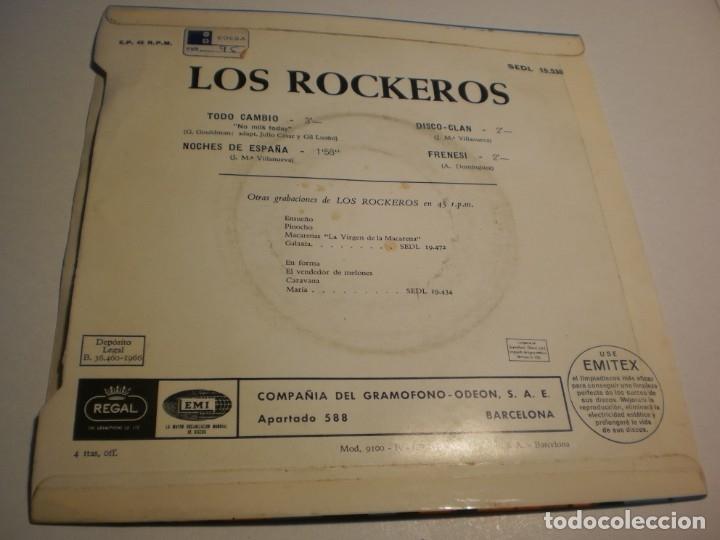 Discos de vinilo: los rockeros. todo cambió. noches de españa. disco clan. frenesí. regal 1966 (probado y seminuevo) - Foto 2 - 179538232