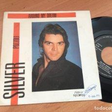 Discos de vinilo: SILVER POZZOLI (AROUND MY DREAM) SINGLE ESPAÑA 1985 (EPI14). Lote 179538273