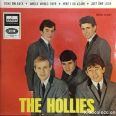 Discos de vinilo: THE HOLLIES - COME ON BACK EP ED. ESPAÑOLA 1965. Lote 179538480