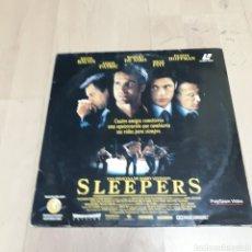 Discos de vinilo: SLEEPERS, BRAD PITT, LÁSER DISC. Lote 179539017