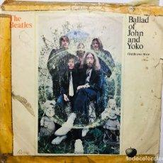 Discos de vinilo: THE BEATLES - BALLAD OF JOHN AND YOKO. OLD BROWN SHOE [ENVÍO EXPRESS 24H]. Lote 179539087